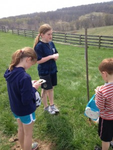 geocache for candy eggs